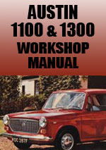 Austin 1100 and 1300 Workshop Repair Manual