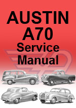 Austin A70 Workshop Manual