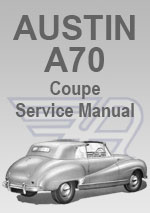 Austin A70 Coupe Workshop Manual