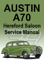 Austin A70 Hereford Workshop Manual