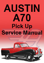 Austin A70 Pick-Up Workshop Manual