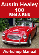 Austin Healey 100/6 BN4 & BN6 1956-1959 Workshop Manual
