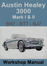 Austin Healey 3000 Mark 1 and Mark 2 Workshop Manual