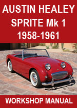 Austin Healey Sprite Mark 1 Workshop Manual